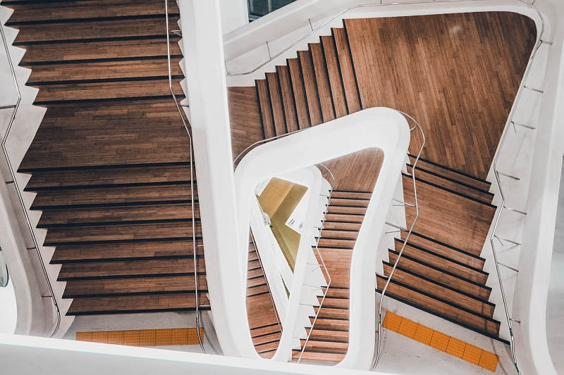 Spiral stairs by Steven Stark